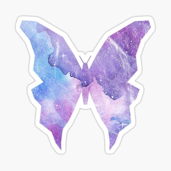 Galaxy Schmetterling Sticker