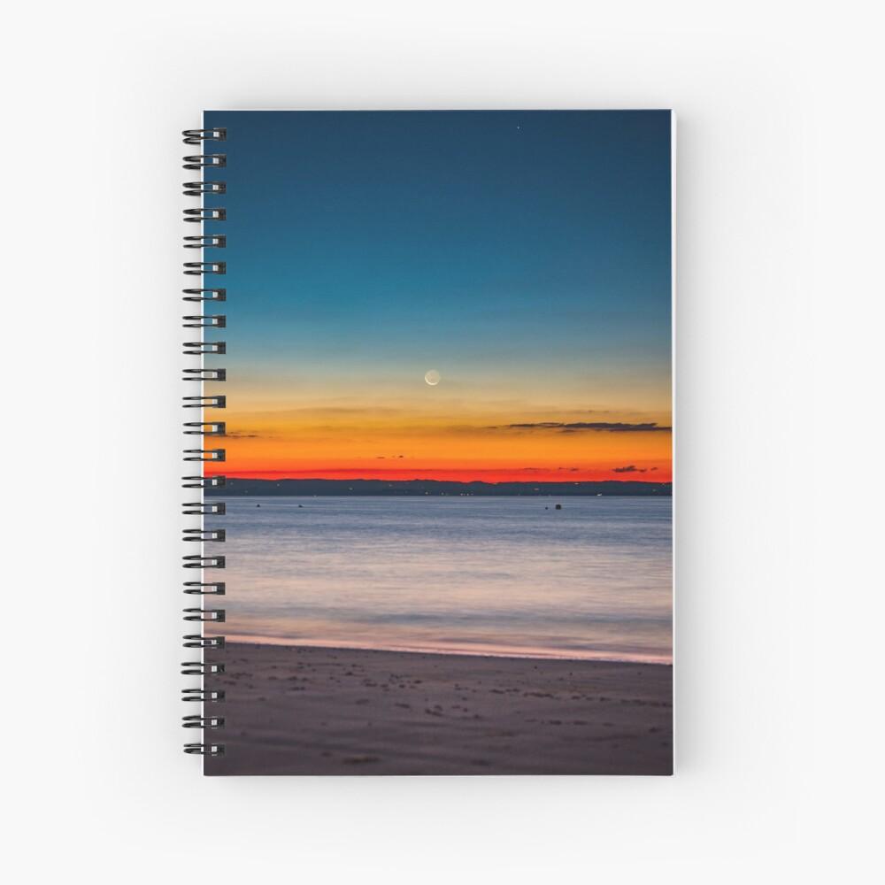 Twilight New Moon Spiral Notebook
