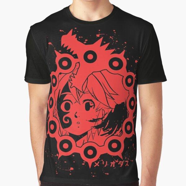 7 Deadly Sins Wrath Meliodas Graphic T-Shirt