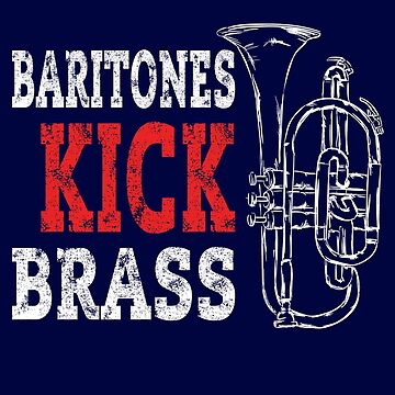 Baritone Euphonium Shirt Brass Conical Bore Player Gift by niftee