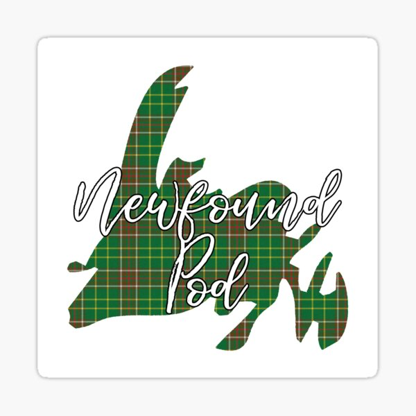 NewfoundPod - A Bite Sized Podcast About Newfoundland Sticker