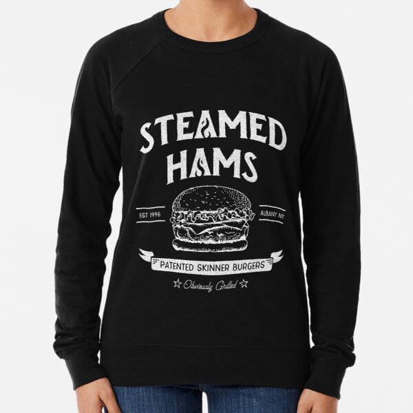 Steamed Hams Meme Lightweight Sweatshirt
