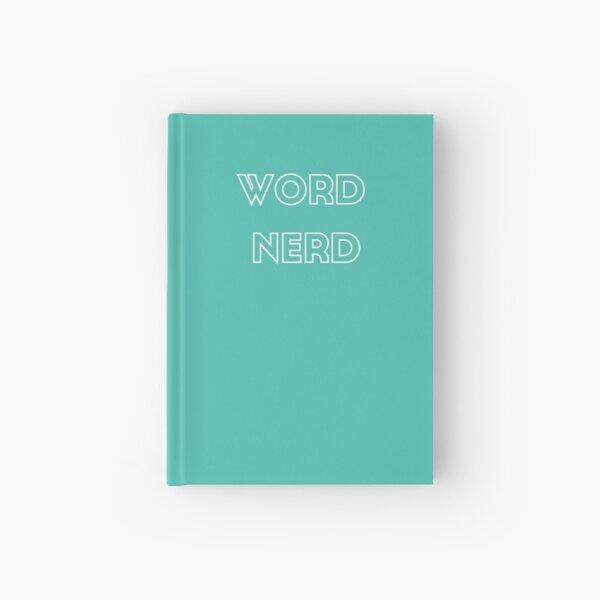 Word Nerd Hardcover Journal