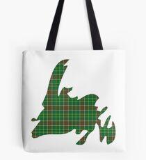 NewfoundPod - Plain Newfoundland Tartan Map Tote Bag