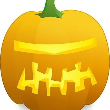 Halloween Robot Pumpkin by MartinV96