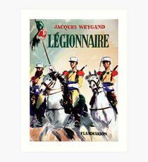 Vintage Poster France - French Legion  Art Print