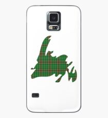NewfoundPod - Plain Newfoundland Tartan Map Case/Skin for Samsung Galaxy