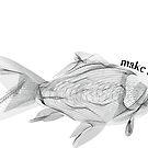 Golden fish - make a wish! by Magda Hanak