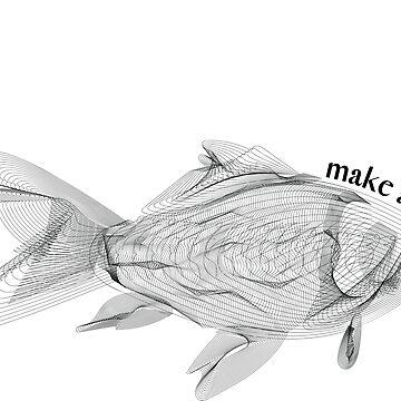Golden fish - make a wish! by MagdaHanak