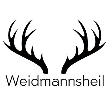 Weidmannsheil Hirsch Wlad nature hunting by StatementDesign