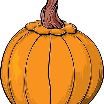 Halloween Big Pumpkin by MartinV96