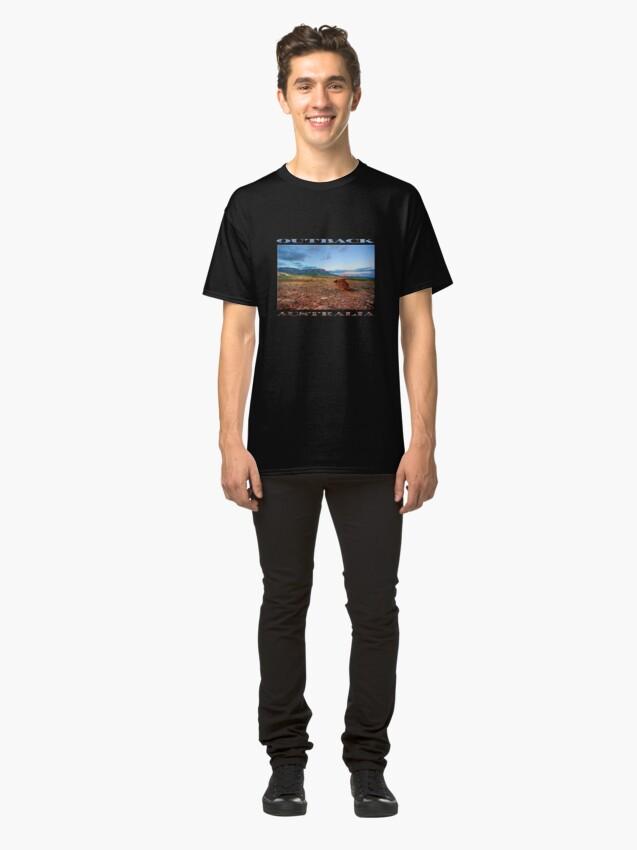 Alternate view of Rawnsley Bluff (poster on black) Classic T-Shirt