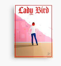 Lady Bird Poster Metal Print