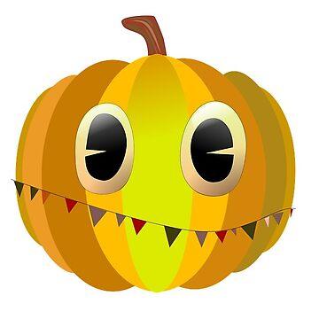 Halloween Party Pumpkin by MartinV96