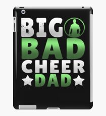 Big Dad Cheer Dad Father's Day Gift iPad Case/Skin