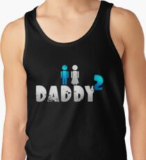Daddy of 2 Father's Day Gift Men's Tank Top