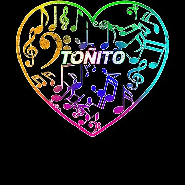 Toñito Music Shirt This is a special shirt just for Toñito by Limeva