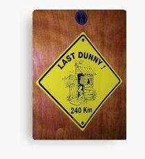 Last Dunny Canvas Print