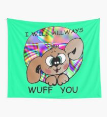 liebe welpe hund Wall Tapestry