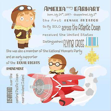 Amelia Earthart by alapapaju