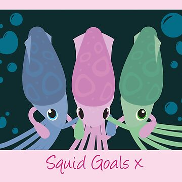 Squid (Squad) Goals by Missajrolls
