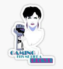 Retro PowerGlove Gamer Sticker