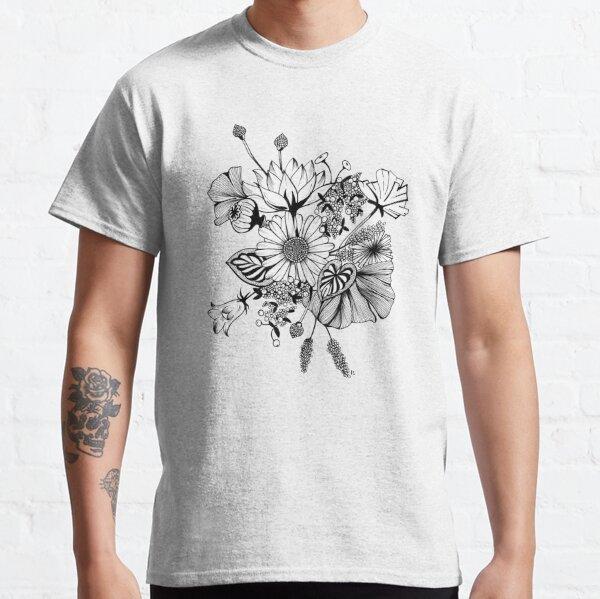 Bouquet de fleurs @Kahlie T-shirt classique