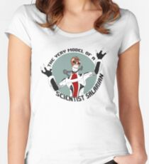 Scientist Salarian Women's Fitted Scoop T-Shirt