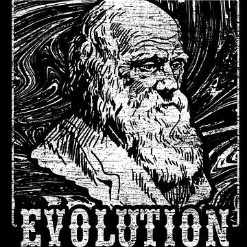 Evolution Darwin by GeschenkIdee