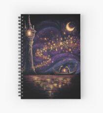 Lanterns Of Hope Spiral Notebook