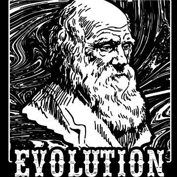 Charles Darwin Evolution Founder by GeschenkIdee
