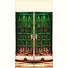 Behind the Green Door by Kasia-D