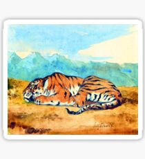 Eugene Delacroix Royal Tiger Sticker