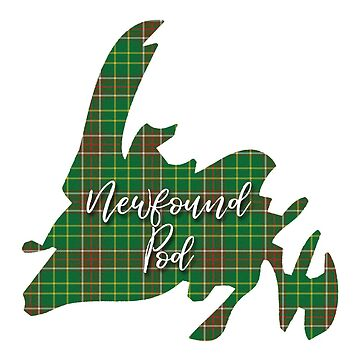 NewfoundPod - A Bite-Sized Podcast About Newfoundland - Newfoundland Tartan Map 2 by newfoundpod