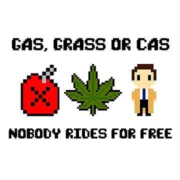 Gas, Grass or Cas 8 Bit  by nekhebit