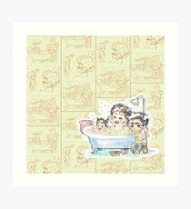 Bubbles Time - MK-II Art Print