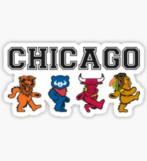 Chicago Dancing Bears Sticker