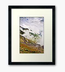 Stelvio Stelvio Stelvio! Framed Print