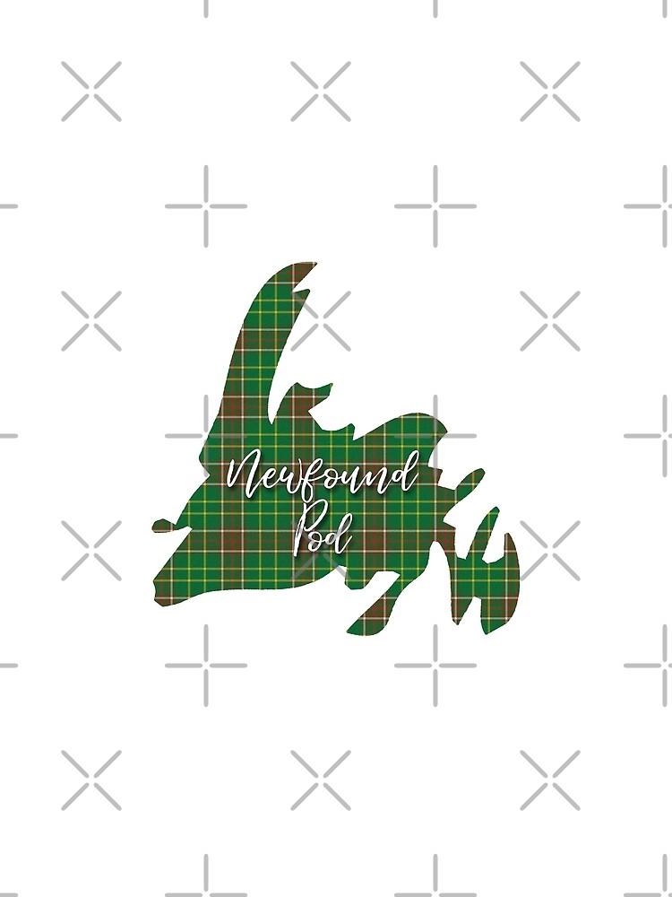 NewfoundPod - Newfoundland Tartan Map 3 by newfoundpod