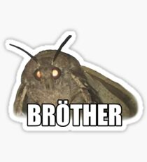 Any lamps brother Sticker