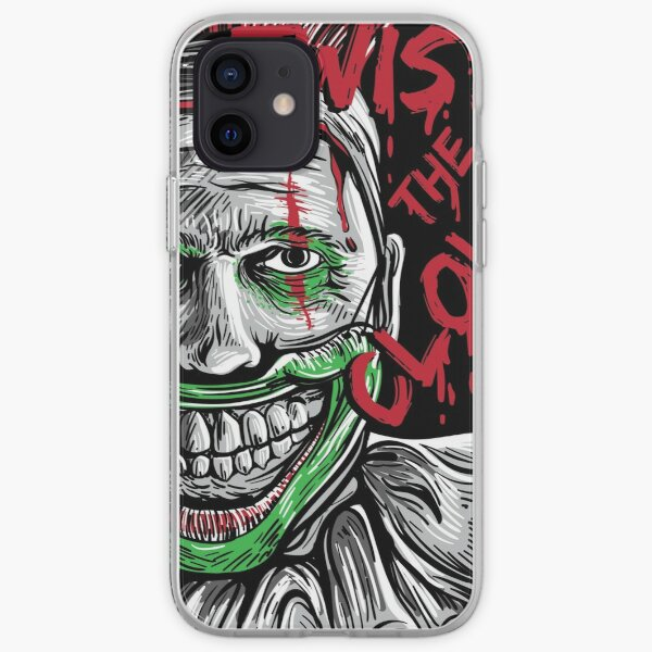 Twisty the clown American story horror Halloween iPhone Soft Case