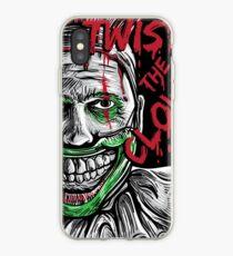 Twisty the clown American story horror Halloween iPhone Case