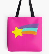 Mabel Rainbow Star Sweater Schwerkraft fällt Tote Bag
