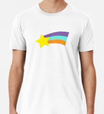 Mabel Rainbow Star Sweater Schwerkraft fällt Premium T-Shirt