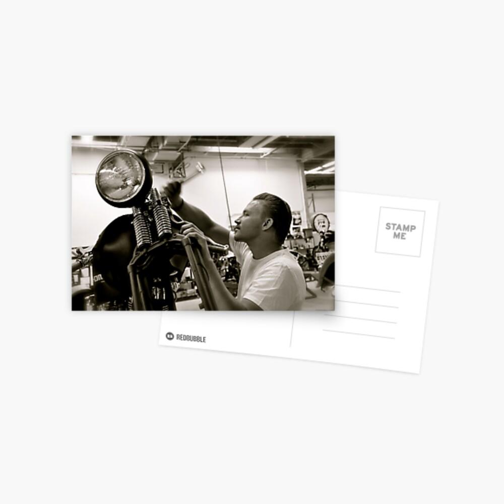 Justin Postcard