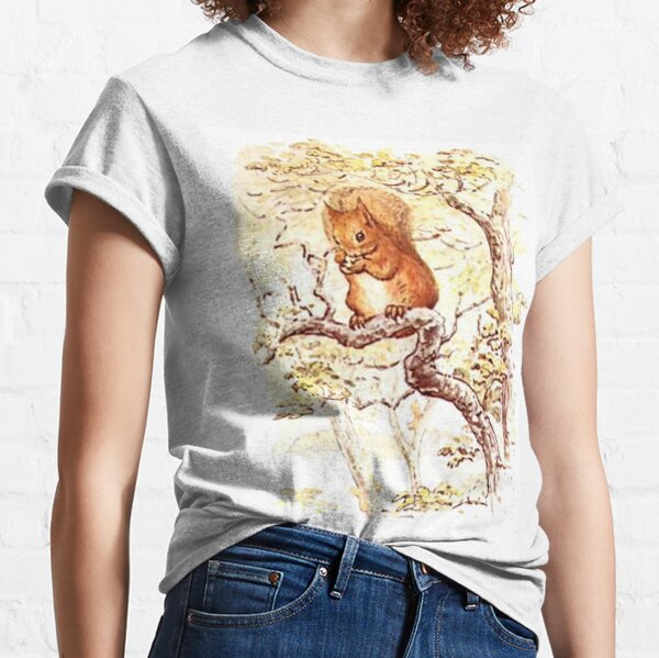 Squirrel Nutkin. Beatrix Potter. Classic T-Shirt