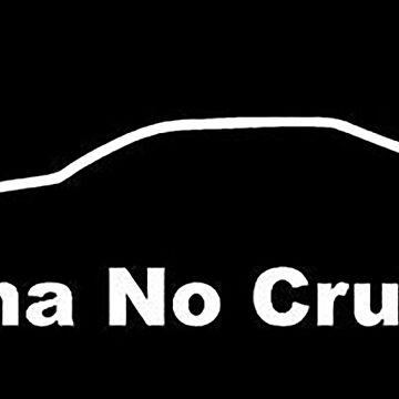 TUNA NO CRUST car image by thatstickerguy