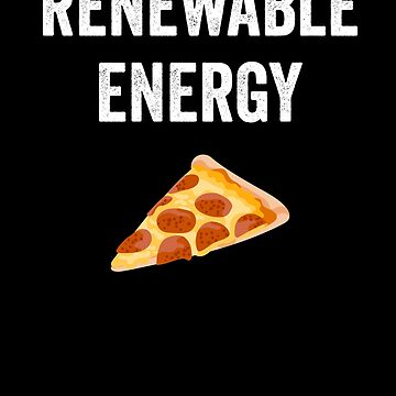 Pizza Slice renewable Energy by with-care