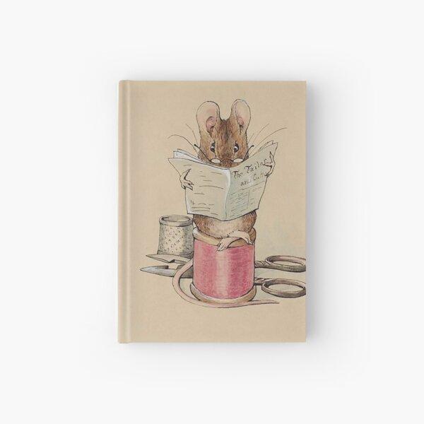 La souris sur mesure, Beatrix Potter, frontispice. Carnet cartonné