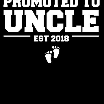 Promoted To Uncle Est 2018 Gender Reveal by with-care